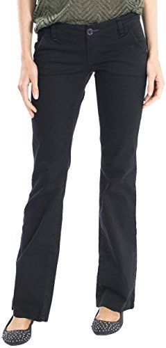 Special Offer: $20.00 amazon.com Boot legBootcut pant in stretch twill featuring slanted front pockets and angled back pocket flapsZip fly with buttonFlattering FitPerfect for School Uniform, Restaurant Uniform