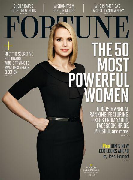 The most fashion-conscious executive in Silicon Valley, Marissa Mayer