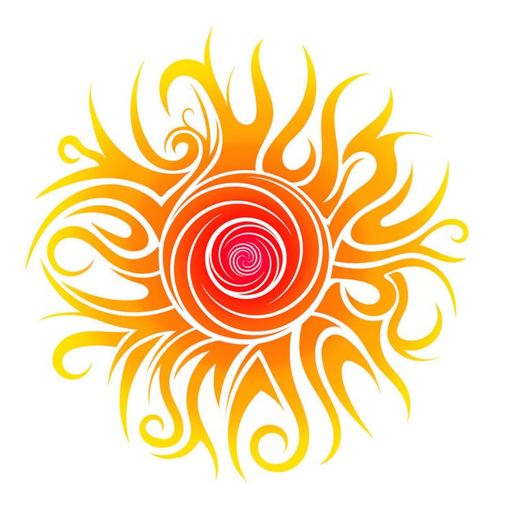 Tribal Sun by Dessins-Fantastiques on DeviantArt