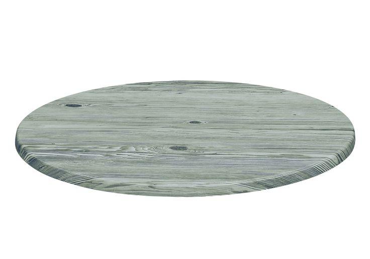 Tischplatte rund 70cm Urban Spruce 217