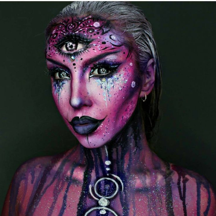 153 best Halloween images on Pinterest Artistic make up, Costume - scary halloween costume ideas 2016
