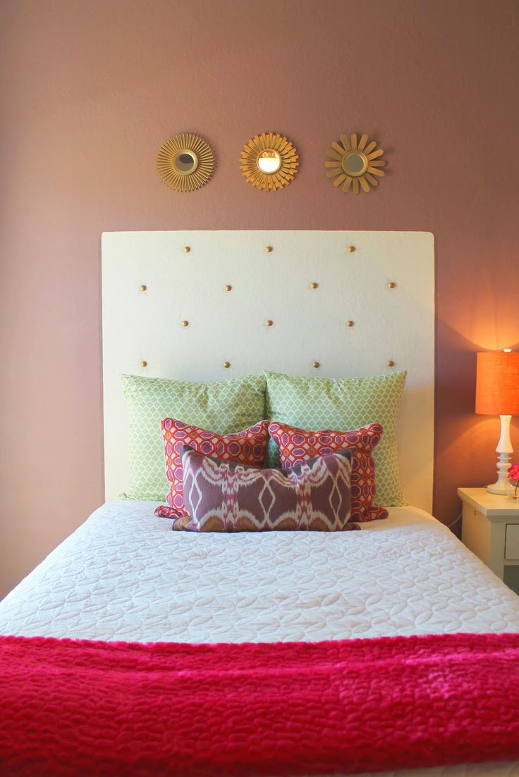 Best 25+ Faux headboard ideas on Pinterest | Cheap diy headboard ...