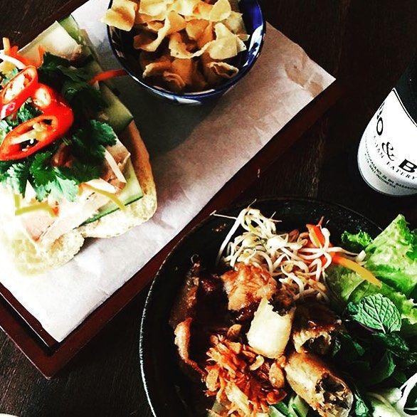 LUNCH • anyone? Stop off at Bo & Bun in Seminyak for some delicious Vietnamese treats! @boandbun • #balifood #boandbun #seminyak #food #drinks #delicious #vietnamese #yum #travel #instatravel #islandlyf #balilyf #breakfast #lunch #dinner  TAG US IN YOUR BALI FOOD PICS #thebaliwhisperer