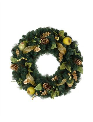 Sausalito Pine Christmas Wreath: Christmas Wreaths, Pine Wreaths, Sausalito Pine, Pine Christmas, Hill Christmas, Christmas Decor, Balsamic Hill, Christmas Trees, Christmas Ideas