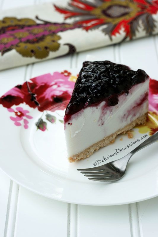 Vanilla Bean Faux Cheesecake (gluten, grain, dairy, egg, and nut free) // deliciousobsessions.com