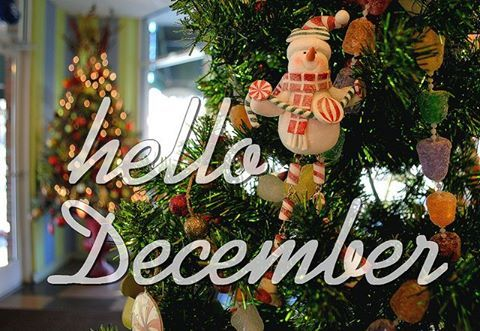 Hello December, it is the most beautiful time of the year. Agree or not?