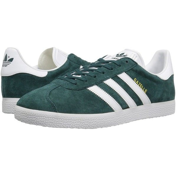 adidas Originals Gazelle (Mystery Green/Footwear White/Gold Metallic).