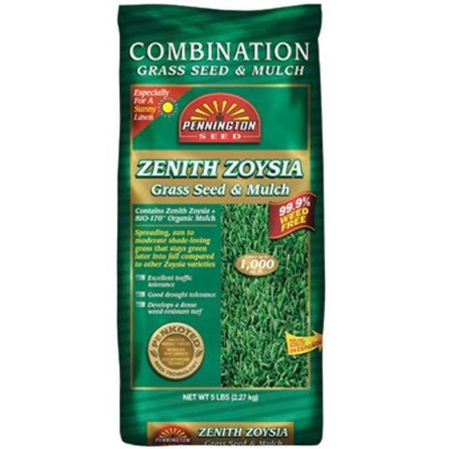 Pennington Seed 100082871 5 Lbs Zenith Zoysia Grass Seed With Mulch Zoysia Grass Seed Zoysia Grass Grass Seed