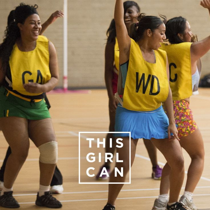 Make it your goal to try something new this weekend! Who's in? #ThisGirlCan