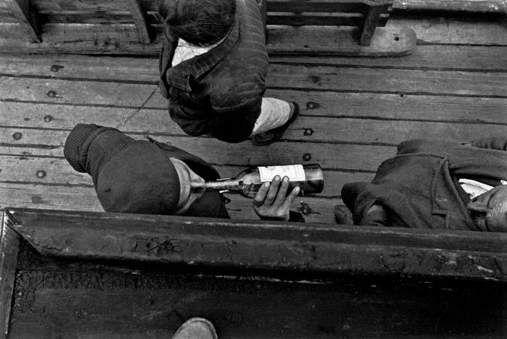 Magnum Photos: Sergio Larrain CHILE. On boat from Puerto Aysen to Chiloe. 1957.
