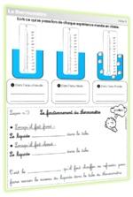 CE1/CE2 : Séquence sur le thermomètre : mise à jour totale !
