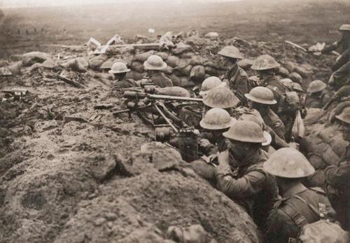 WWI Ypres Battle Menin Road 1917