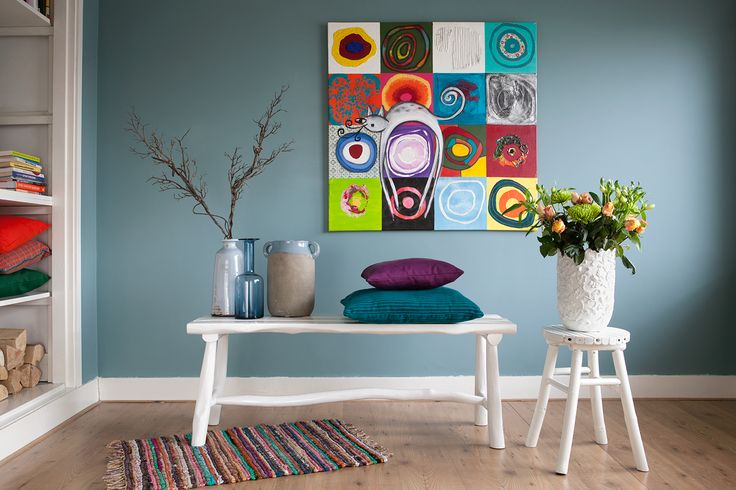 25 beste idee n over woonkamer kleuren op pinterest for Interieur kleuren 2017