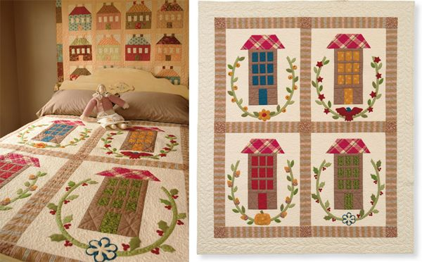 14 Best images about House quilts on Pinterest Seasons, Main street and Quilt