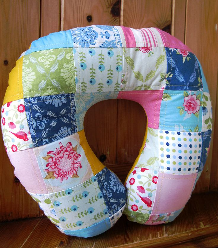 40 Best Creation Images On Pinterest Neck Pillow Travel Pillows Magnificent Diy Neck Pillow Cover