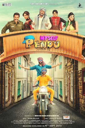 Myself Pendu Punjabi Movie – The plot rotates around two fellows, Preet and Harpal, who are from a white collar class family and are lighthearted and not worried about their future.