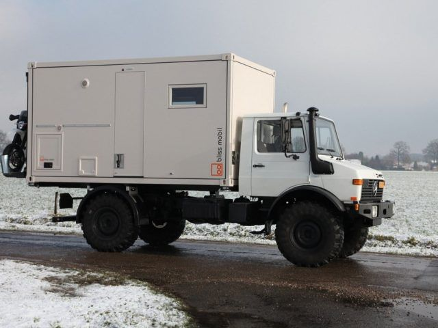 13 Foot Unit Bliss Mobil Freedom Of Independence In 2020 Unimog Expedition Vehicle The Unit