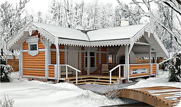 Проекты бань с террасой и барбекю (28 фото): зона отдыха 3 в 1 http://happymodern.ru/proekty-ban-s-terrasoj-i-barbekyu-28-foto-zona-otdyxa-3-v-1/ Традиционная русская баня из бруса