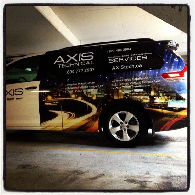 AxisTech Van - 1
