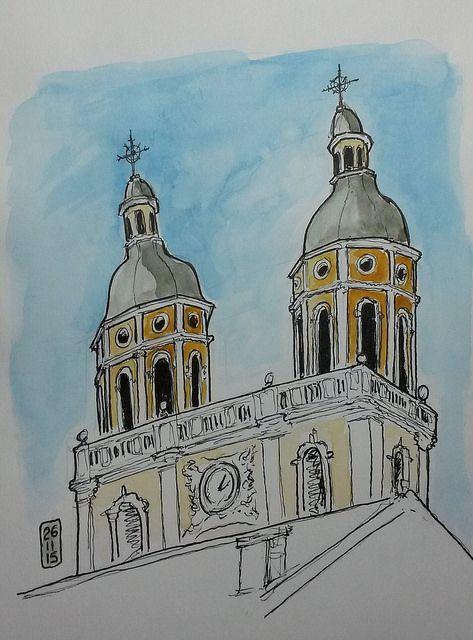 Florianópolis originou-se de uma vila chamada Desterro fundada em 1673. Por isso a catedral de Florianópolis é dedicada a Nossa Senhora do Desterro. A construção da igreja foi iniciada pelo Bandeir...