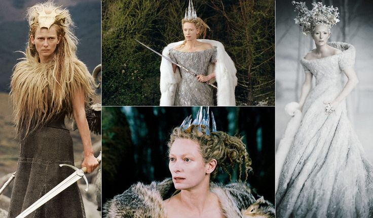 Film – The Chronicles of Narnia: The Lion, The Witch and the Wardrobe 2005 Character – The White Witch played by Tilda Swinton Costume Designer – Isis Mussenden