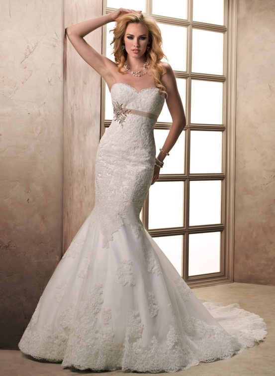 Stunning Maggie Sottero Ophelia Maggie Sottero Wedding Dresses Spring A stunning shape with gorgeous fabrication this Opal Organza fit and flare gown with