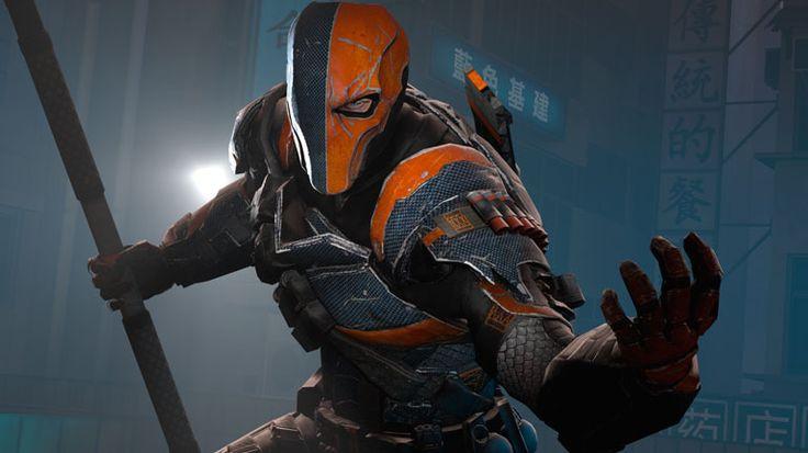 Slade Wilson: o Deathstroke ou Exterminador no jogo da série Arkham (Imagem: Divulgação)
