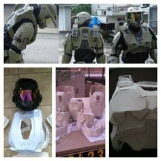 Halo Armor in the making
