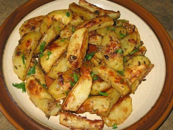Самые вкусные рецепты: Печеный картофель