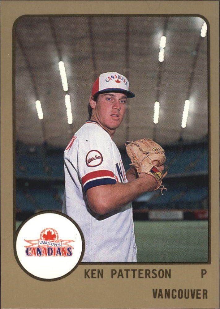 1988 Vancouver Canadians Procards 757 Ken Patterson Ken