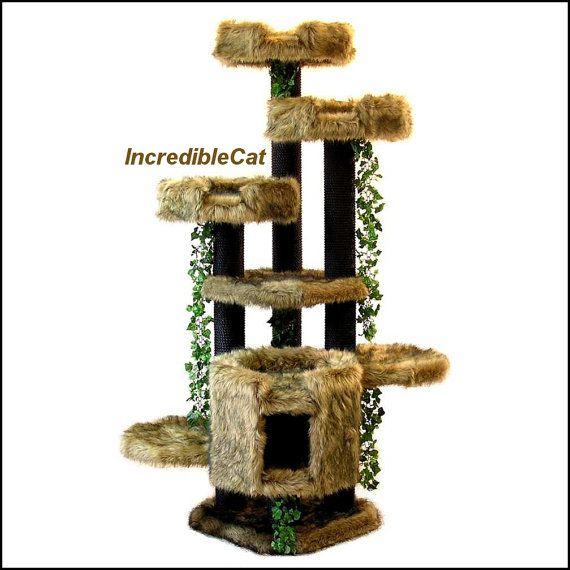modern cat tree furniture. majestic cat furniture 6u0027 high best beds end trees modern tree furniture