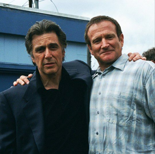 Al Pacino & Robin Williams from the movie Insomnia