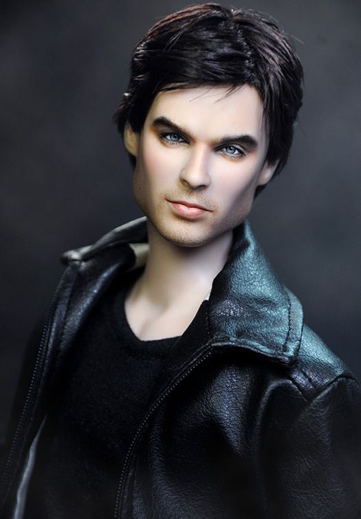 Ian Somerhalder as Damon Salvatore (The Vampire Diaries) Celebrity Dolls by Noel Cruz