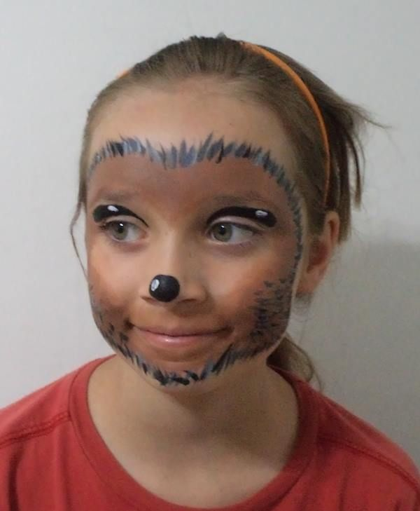 Hedgehog makeup