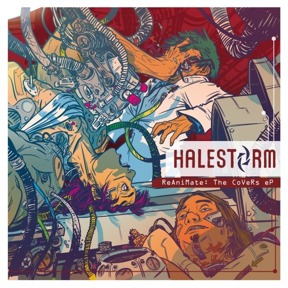 Halestorm - Reanimate. Great EP of cover tunes. I've been on the Halestorm bandwagon for a couple of years and glad to see their starting to get some good pub and recognition. Check 'em out!