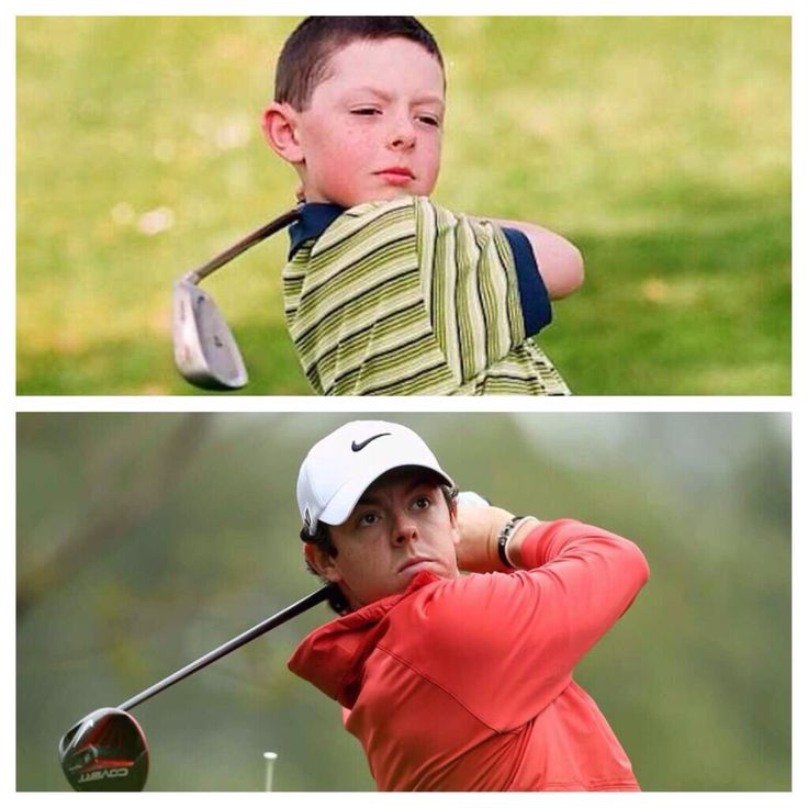 Rory McIlroy - Then and Now