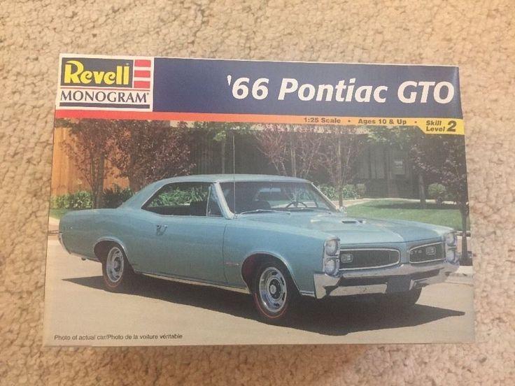 '66 Pontiac GTO 1:25 Revell Monogram  | eBay