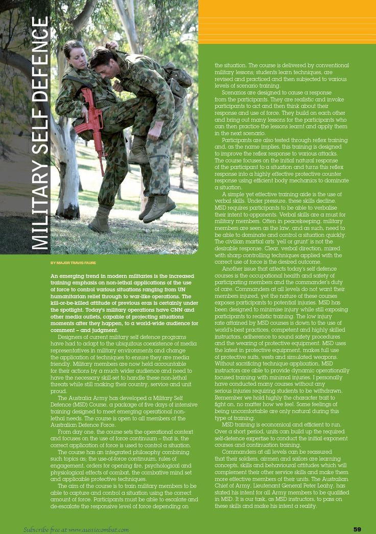 The basics of MSD in the ADF. Published in issue #10, June 2006