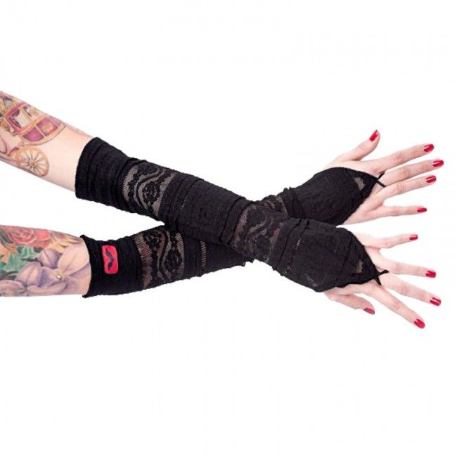 Wonderland 13 : Queen of Darkness Armstulpen Black Romance - Strumpfwaren, Handschuhe & Stulpen - Accessoires