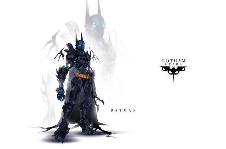 Gotham Gears: Batman by ChasingArtwork.deviantart.com on @deviantART