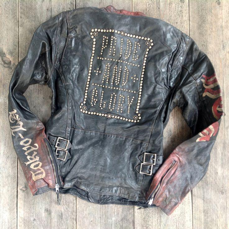 """HOLLYWOOD TRADING COMPANY """"Glory Jacket"""" (Back) Fall/Winter 2013"""