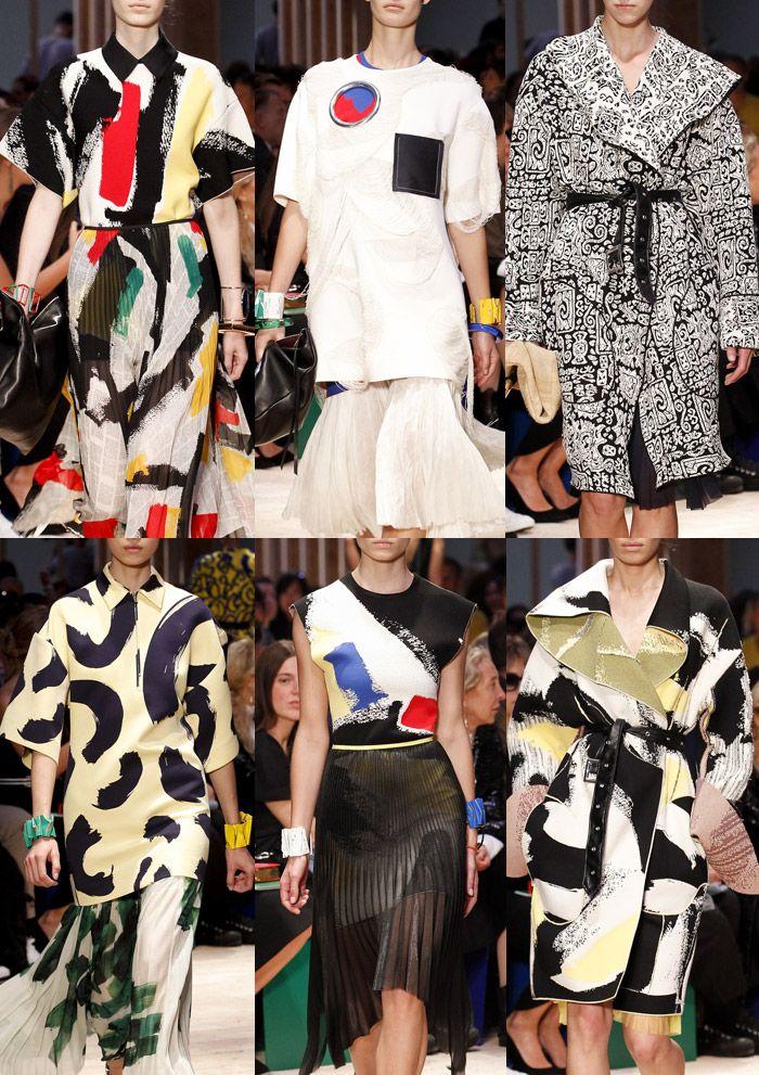 Celine - Paris Fashion Week – Spring/Summer 2014 – Print Highlights Part 2