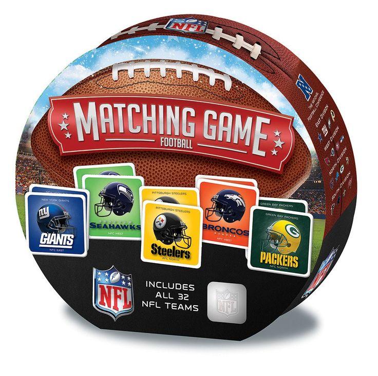NFL Matching Memory Game
