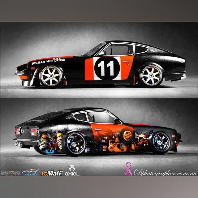 RC. car #datsun #240z #jdm #fairlady #oldschool #racer #grassroots #badass #streeter #drift #photography #creative #art #scale