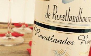 Rosé van de Reestlandhoeve, een feestelijk mousserende wijn voor Valentijn