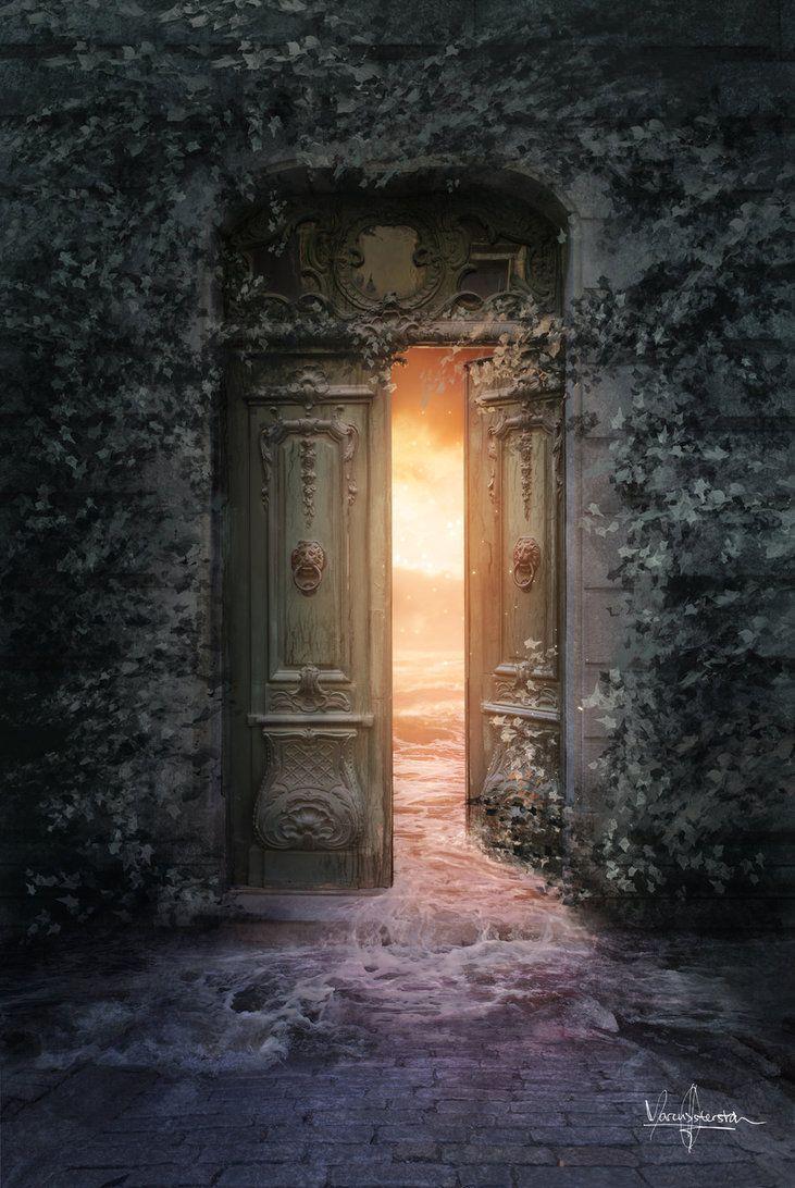 Гифка дверь в другой мир часто именуют