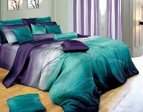 Twilight 5pc Luxury 100% Cotton Duvet Cover Set (King)