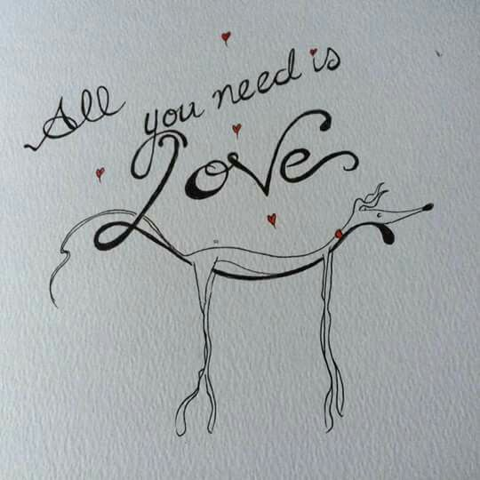 All you need is Love by Nelly Doodles