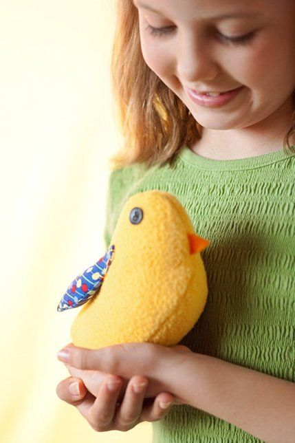 Free chick pattern:  Quilted Gifts for Babies and Children | AllPeopleQuilt.com
