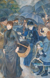 The Frick Collection - New York: Umbrellas, Les Parapluies, Impressionist, Art, Pierre August Renoir, National Galleries, Paintings, Pierreaugust Renoir